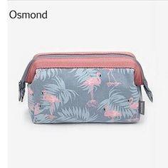 [Visit to Buy] Osmond 2017 New Fashion Cosmetic Bag Multifunction Printing Travel Wire Make Up Makeup Organizer Bag Women Zipper Storage Bags #Advertisement