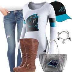 Cute Carolina Panthers Outfit
