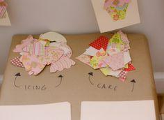 activité tableau cupcakes pour un anniversaire