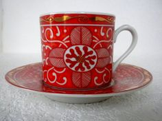 Two George Briard Tea Cup and Saucer Signed Imperial by oldandnew8, $20.00-  This site has many wonderful teacups.