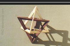 3d triangle arrangement