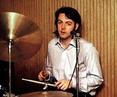 Paul McCartney on Drums.