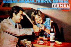 Tekel şarapları 1972.