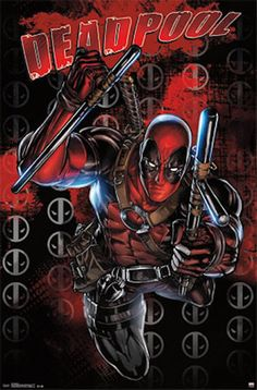 #Deadpool #Fan #Art. (Deadpool Poster) By: Erica C. (THE * 5 * STÅR * ÅWARD * OF: * AW YEAH, IT'S MAJOR ÅWESOMENESS!!!™) [THANK U 4 PINNING!!!<·><]<©>ÅÅÅ+(OB4E)