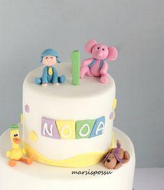 Marsispossu: 1-vuotiskakku kaksosille, Children cake