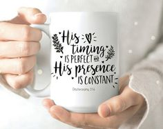 His timing is perfect and His presence is constant.