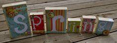 Inspiring Creations: Spring Blocks