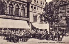 Jena, Sidewalk, Germany, Street View, Weimar, Fraternity, Erfurt, Side Walkway, Walkway