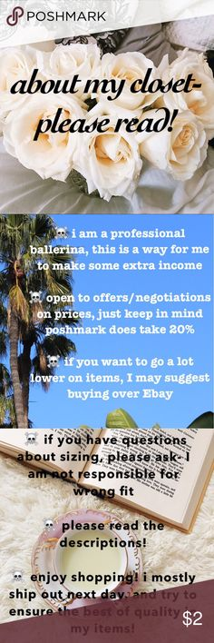 about my closet ☠️ i am trying to make extra income, i am a professional ballerina. i am open to offers and negotiations, but poshmark does take 20% of the sale for themselves. I respond to questions very quickly, if you are unsure of a fit, please ask! I am not responsible for a wrong fit, or not reading the description. Thank you for reading & shopping! i try to ship next if not same day, and take good care of my clothing! ❤ Urban Outfitters Dresses