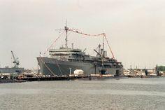Submarine tender--LY Spear in Norfolk, VA