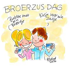 Broer/zus dag! by Blond-Amsterdam