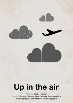 Victor Hertz Pictogram Movie Posters - Up in the air