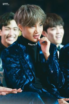 Kai - 161119 2016 MelOn Music Awards Credit: 카이복음. (2016 멜론 뮤직 어워드) cutiepie