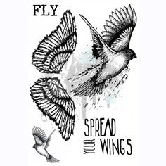 Spread Your Wings Stamp Set by Georgia Heald