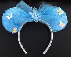 Cinderella Inspired Mouse Ears by wickedEars on Etsy