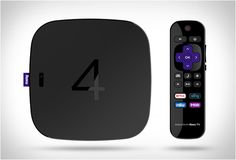 The new Roku 4 streaming media player is now available for purchase! Mobile Printer, Dark Spot Corrector, Internet Trends, High Tech Gadgets, Fade Out, Dark Spots, Tv Videos, Product Design, Remote