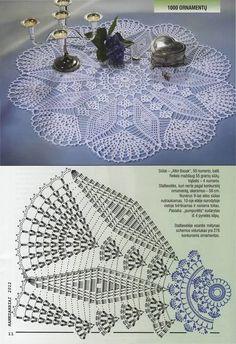 Filet Crochet, Crochet Doily Diagram, Crochet Doily Patterns, Crochet Mandala, Crochet Art, Thread Crochet, Crochet Designs, Crochet Crafts, Crochet Flowers
