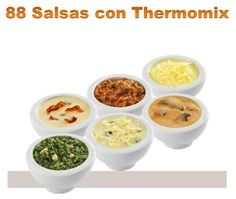 88 sauces with thermomix pdf salsas con thermomix pdf gratis 88 sauces with thermomix pdf free - Veggie Recipes, Sweet Recipes, Real Food Recipes, Cooking Recipes, Yummy Food, Healthy Recipes, Dips Thermomix, Sauce Salsa, Salsa Tártara