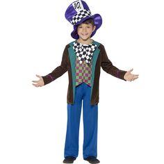 Disfraz Sombrerero Deluxe Infantil - Comprar Online {Miles de Fiestas}