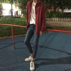 Korean Fashion Trends you can Steal – Designer Fashion Tips Korean Fashion Trends, Korean Street Fashion, Asian Fashion, Look Fashion, Fashion Outfits, Fashion Design, Guy Outfits, Fashion Blogs, Fashion Hair