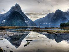 Le fjord Milford Sound, dans la région de Southland de l'île du Sud, en Nouvelle-Zélande
