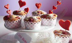 Herzige Himbeer-Muffins