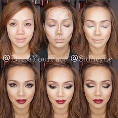 3207c8ec060f2 Simple contouring is one of the best ways to refine your makeup look ...