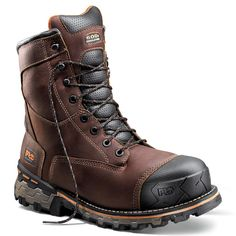 "Timberland Pro Men's 8"" Boondock Composite Toe Boots"