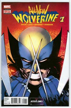 All-New Wolverine vol. The Four Sisters Tom Taylor David Lopez David Navarrot Nathan Fairbairn All New Wolverine, Tom Taylor, Four Sisters, Recent Events, American Comics, Book Publishing, Marvel Comics, Mystic, Script