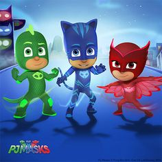 Little ones love heroic adventures! Now with this collection of official character faves, they can live out their very own superhero dreams, just like Catboy, Owlette and Gekko from the hit kids' show, PJ Masks.