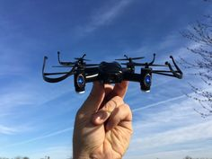 Micro drone maker Aerix has announced the launch of its new FPV racing model, the Black Talon. It's all set to be an affordable and exciting high-performance drone; perfect for beginners keen to get started in a sport ready to take off. Drone Quadcopter, Drones, Micro Drone, Smartphone Holder, Drone Technology, Virtual Reality Headset, Vr Headset, Best Gifts For Men, Product Launch