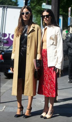 Everyone Is Watching These Two It Girls via @WhoWhatWear