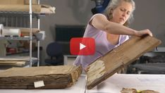 This wonderful and inspiring video, featuring Eliza Gilligan, a book conservator at the University of Virginia, is reach with an old book's details and close-ups. A real pleasure to watch. As a bonus: some insights into how a conservator works and thinks