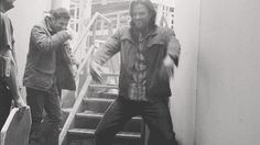 [GIF] Jared being a cute dork and making Jensen giggle like a little child... that's what little brothers are for. #gag reel
