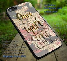 Vintage Flower Once Upon a Time iPhone 6s 6 6s 5c 5s Cases Samsung Galaxy s5 s6 Edge NOTE 5 4 3 #movie #disney #animated #onceuponatime dt