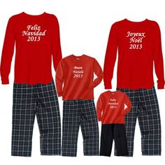 9437a3859b merry christmas family pajamas. This is adorable when the kids are young.