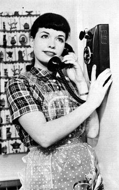 Phone cord vintage