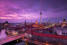 Berlin Skyline by Matthias Makarinus, via 500px