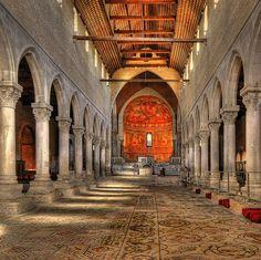 Basilica di Aquileia Friuli-Venezia Giulia, XI Sec.
