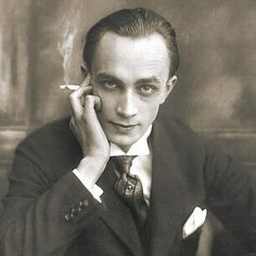 Conrad Veidt -- Anders als die Andern (Different From The Others) -- This is possibly the first homosexual character written for the screen