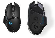 Logitech G502 Wireless LIGHTSPEED: Esta nueva versión promete un mejor rendimiento Logitech, Gaming Setup, Computer Mouse, Keyboard, Games, Pc Mouse, Gaming, Mice, Plays