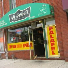 If you love middle eastern you will love Ali Baba's.