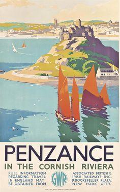CORNWALL Penzance in the Cornish Riviera [also poulwebb]