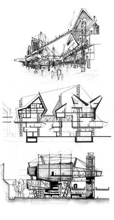 Final Thesis Design Project – Borough Market Expansion, South London