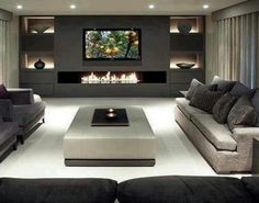 Color contrast is good for accenting spaces, adding drama, enhancing lighting effects, feeling cozy.