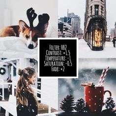 vsco for christmas time Vsco Filter Winter, Feed Vsco, Foto Filter, Photography Filters, Aperture Photography, Photography Composition, Photography Themes, Photography Accessories, Photography Lighting