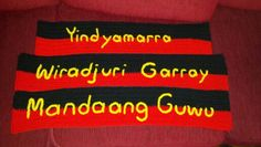 Wiradjuri language words