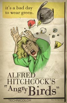 """Hitchcock's """"Angry Birds"""""""