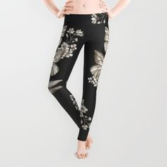 Buy Vintage Science Leggings by Casey Saccomanno. Worldwide shipping available at Society6.com. Just one of millions of high quality products available.