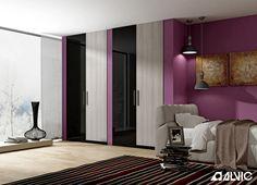 #Armario fabricado con productos #ALVIC. #LUXE BY ALVIC para proyectos de #interiorismo, #decoración, #arquitectura o #construcción. Múltiples opciones de colores y diseños.